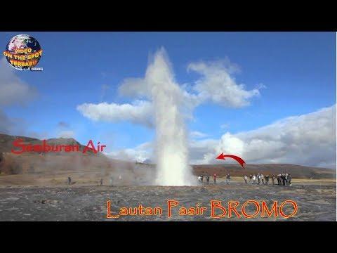 Wisatawan Terkejut Ada Sembura Air ANEH Tiba² Muncul di Lautan Pasir Bromo! TakDisangka itu…