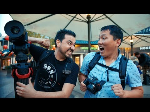 Canon EOS R Vs Sony A7III Camera Showdown W/ Potato Jet!