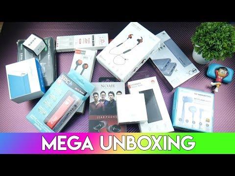 MEGA UNBOXING : Powerbank, Earphone, Speaker (Ada Giveaway?)