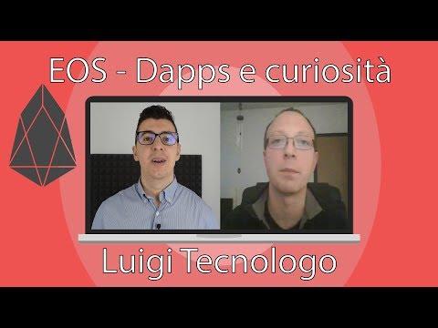 EOS dapps e curiosità – 4 chiacchiere con Luigi Tecnologo eosfilestore
