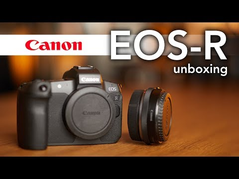Canon EOS-R Unboxing