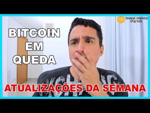BITCOIN QUEDA / Bitstamp Adquirida / Regulação Vento em Popa / Atualizações Semana