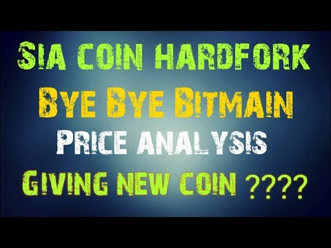 Sia coin hardfrok and price analysis and price prediction Or giving new cryptocurrency