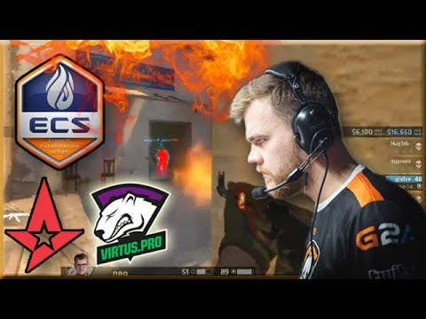 Neo 1 VS 3 Clutch! Full Eco Glocks Round Win! Virtus.pro Highlights VS Astralis