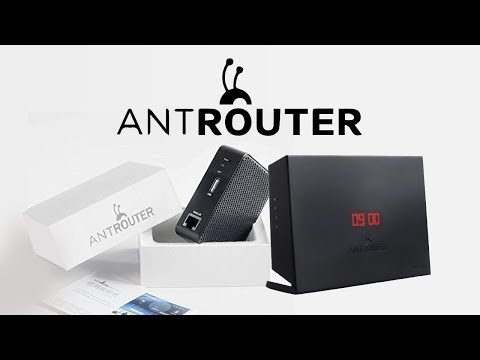 Todo sobre AntRouter – Routers que minan Litecoin – Dash – Siacoin – VideoTutorial