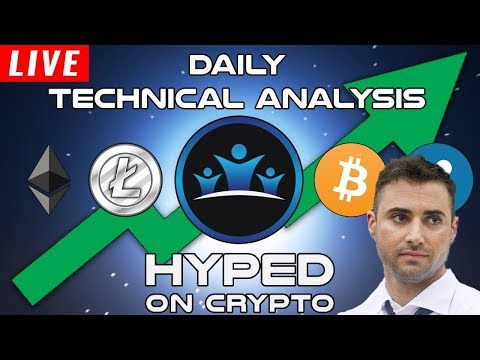 LIVE! Cryptocurrency Technical Analysis ft. Krown