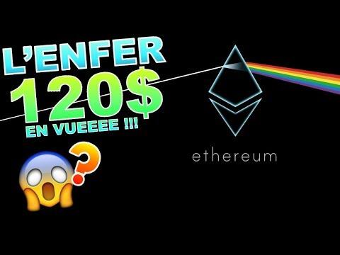 ETHEREUM 120$ CRASH !!!??? eth analyse technique crypto monnaie bitcoin