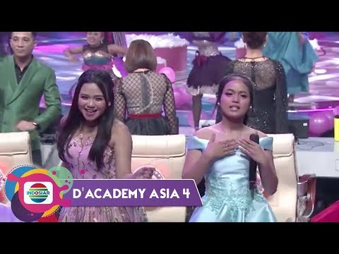 CIECIEE Ada Konco Mesra-nya D'Imoetz di Panggung Dangdut Academy Asia 4