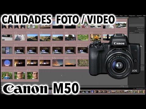 Canon EOS M50 | Calidades foto y video