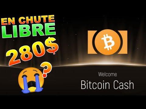 BITCOIN CASH 280$ CRASH !!!??? BCH analyse technique crypto monnaie bitcoin