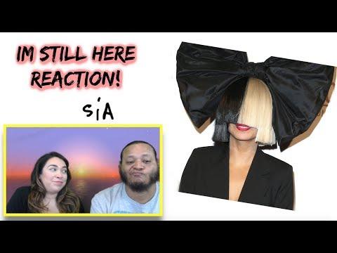 Sia I'm Still here audio reaction