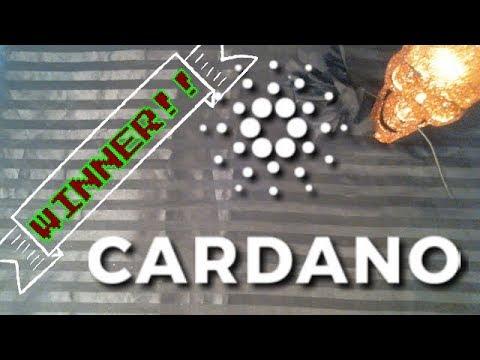 COMMENT WINNER: CARDANO (ADA) Tarot Prediction