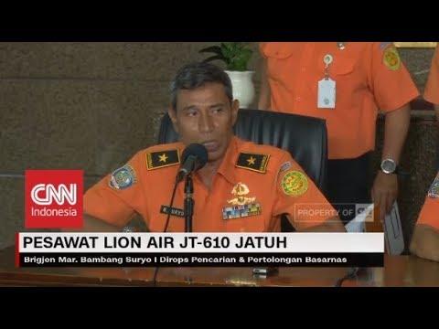 "Basarnas: ""Kemungkinan Tidak Ada Korban yang Selamat"" ; Pencarian Korban Lion Air Dilakukan 24 Jam"