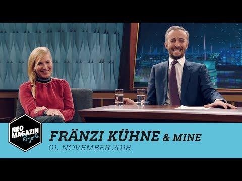 Fränzi Kühne & Mine zu Gast im Neo Magazin Royale mit Jan Böhmermann – ZDFneo