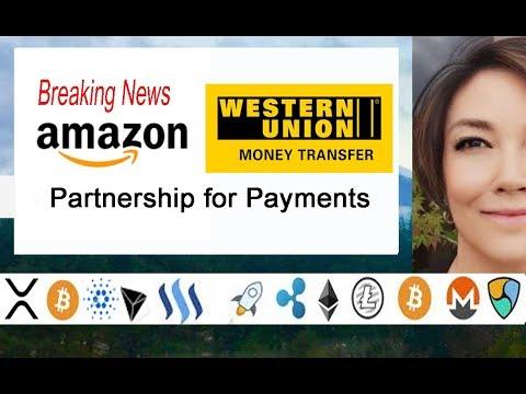 Amazon & Western Union Partner for Payments, Ripple CEO Chris Larsen, XRP on IDAX