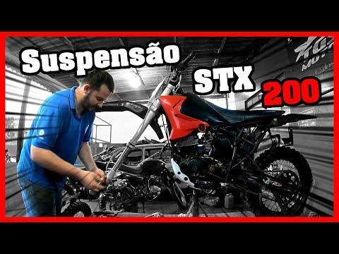 REVISANDO A SUSPENSÃO DA STX 200 – TGS NA TRILHA