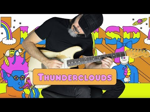 LSD ft. Sia, Diplo, Labrinth – Thunderclouds – Electric Guitar Cover by Kfir Ochaion
