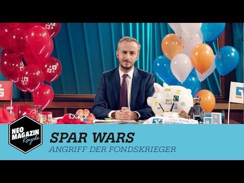 Spar Wars – Angriff der Fondskrieger | NEO MAGAZIN ROYALE mit Jan Böhmermann – ZDFneo