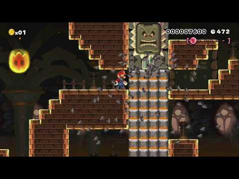 5-8:Neo Yoshi City Tower by Myuu – Super Mario Maker – No Commentary