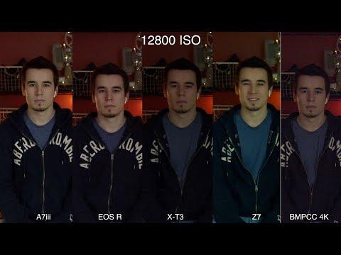 EOS R vs A7III vs X-T3 vs Z7 vs Pocket 4K – Low Light Comparison!