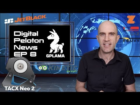 Digital Peloton News Ep8: Tacx Neo 2 // Kinetic R1 // TONS of Training App Updates!