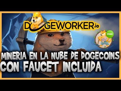 ☠ DOGEWORKER.IO – MINERIA DE DOGECOIN CON FAUCET INCLUIDA ( 1 MINERO GRATIS ) ? PRUEBA DE PAGO✔️