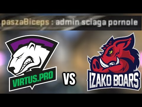 VIRTUS PRO vs IZAKO BOARS! NEO NAJSZYBSZY ACE EVER ?  2 MAPY