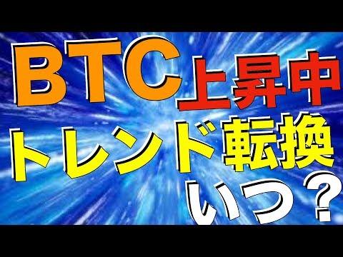 【BTC】ビットコイン上昇中!トレンド転換はいつ?[仮想通貨][Cryptocurrency]
