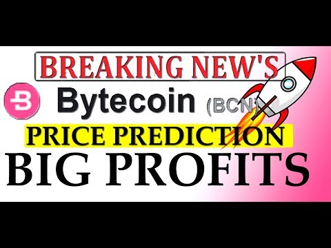 BYTECOIN BCN PRICE PREDICTION & LATEST TWEETS  | BYTECOIN MINING  #BCN  #GAMESZCRYPTO
