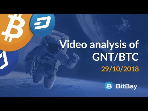 Video analysis of GNT/BTC for 29/10/2018 – BitBay
