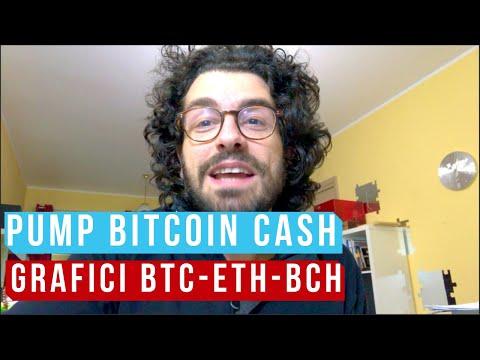 BITCOIN CASH SUPER PUMP! Le analisi grafiche di BTC e ETH e BCH