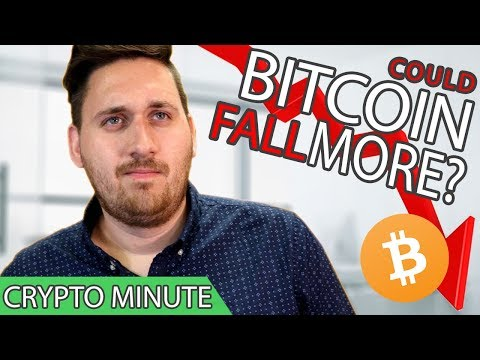 COULD BITCOIN FALL FURTHER? // CryptoCurrency News