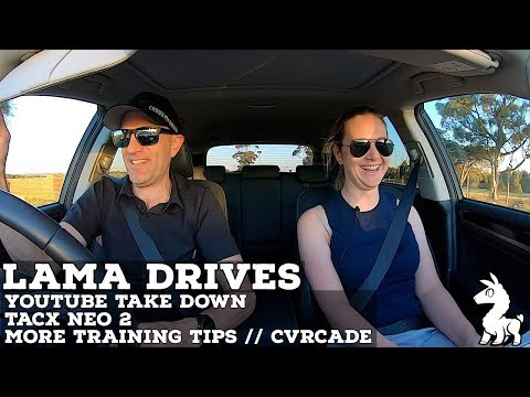 LAMA DRIVES: YouTube Take Down // Neo 2 // More Training Tips // CVRcade