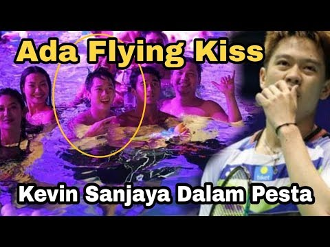 Momen Seru-seruan Kevin Sanjaya dan Jessica Iskandar, Ada Flying Kiss