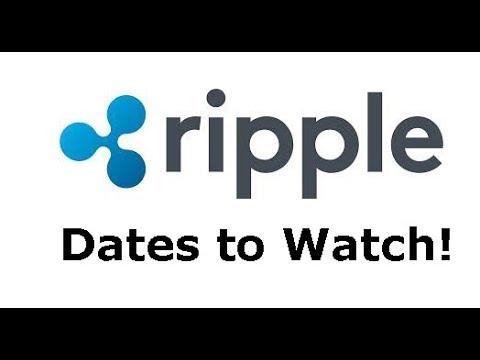 Ripple XRP possible bull run trigger dates