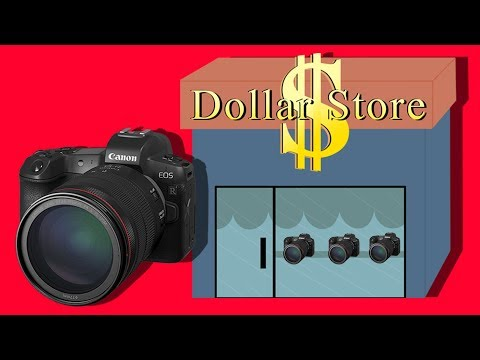 Canon EOS R: A Dollar Store Camera With Mercedes Lenses