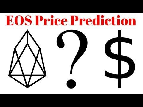 EOS Price Prediction November 2018