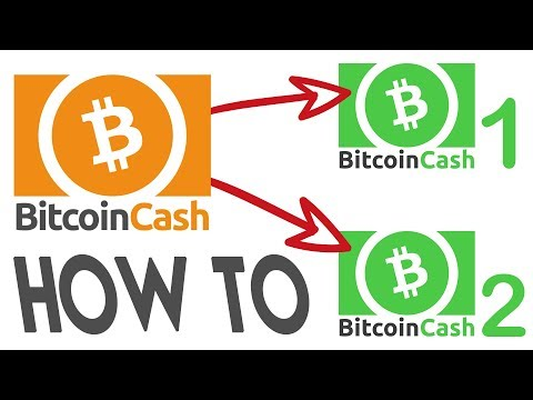 Bitcoin Cash (BCH) Hard Fork – How to double your BCH!
