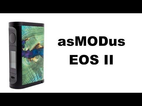 asMODus EOS II 180W Box Mod