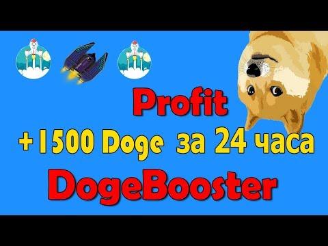 Как зарабатывать от 1000 Doge ежедневно! DogeBooster