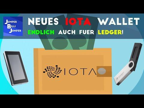 Iota Wallet für Ledger – Erster Einblick in das Wallet