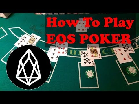 EOS Poker Gameplay & Tutorial | BLACKJACK ON EOS!