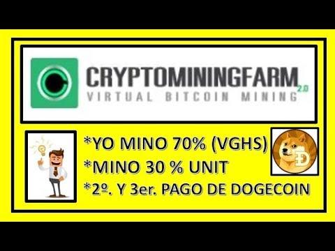 """""""CRYPTOMININGFARM"""" RETIRO 2o.Y 3er. DE DOGECOIN  PRECAUCION NOTICIAS!!!"""