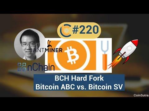 # 220 – Giá BCH tăng / Bitcoin Cash Hard Fork: Bitcoin ABC vs. Bitcoin SV