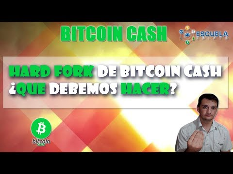 ✂ Hard Fork de Bitcoin Cash (BCH) │ ¿Que hacer?│Escuela Cripto ✂