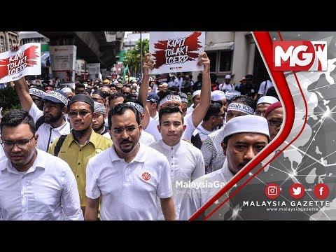 """TERKINI : HIMPUNAN PEMUDA UMNO dan PAS – """"Nak Perbodohkan Kita Bila Ada Kuasa"""""""