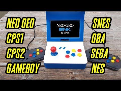 "A8 Retro Arcade Gaming Machine full review ""NEO GEO Look alike"""
