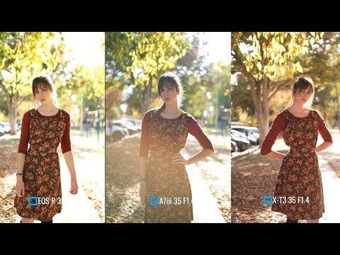 Canon EOS R vs Sony A7iii vs Fujifilm X-T3 Portraits (Side by Side) w/ Dagney