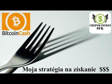 Bitcoin Cash hard fork  – Moja stratégia