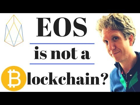 EOS is not a Blockchain?! Find out the Truth.